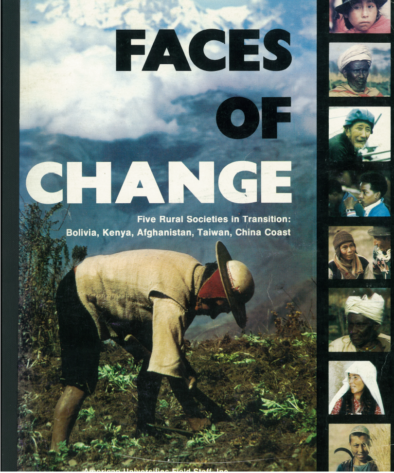 Faces of Change, Cover